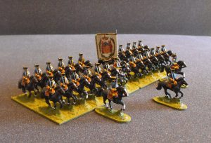Theobald's Regiment. These gentlemen cuirassiers were the first mounted troops to be raised by the Alliance. They have the best record of all the horse.......not that there's much competition to be honest.
